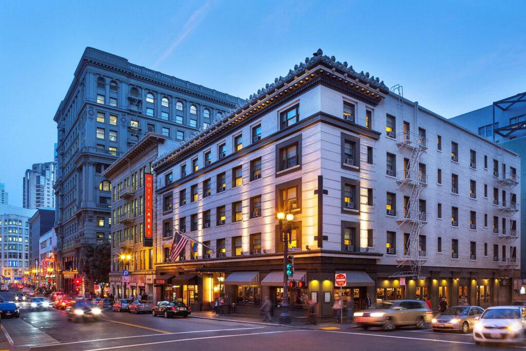 Hotel Abri, San Francisco.