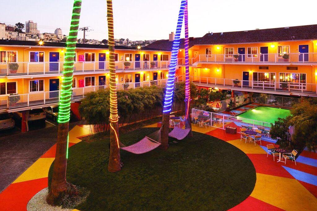 Hotel Del Sol, San Francisco.