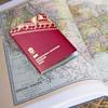 Kartbok och pass.