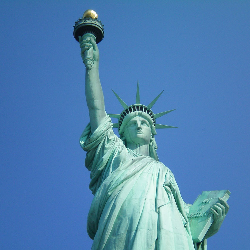 Frihetsgudinnan, New York.