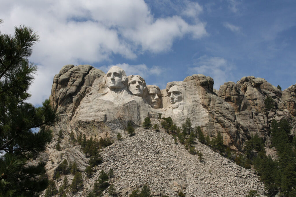 Mount Rushmore Memorial, South Dakota.