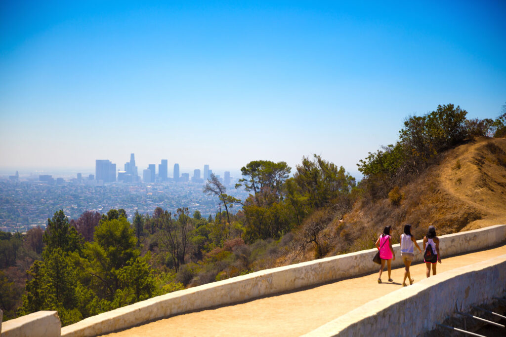 Griffith Park Trail, Los Angeles, Kalifornien.