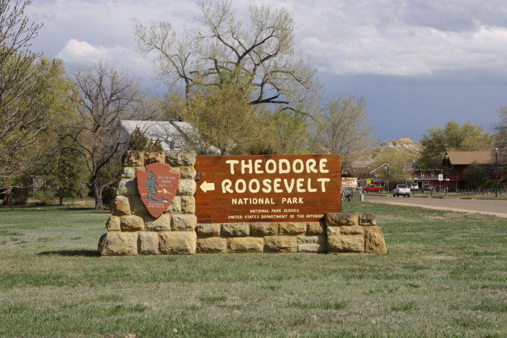 Entré, Theodore Roosevelt National Park, North Dakota.