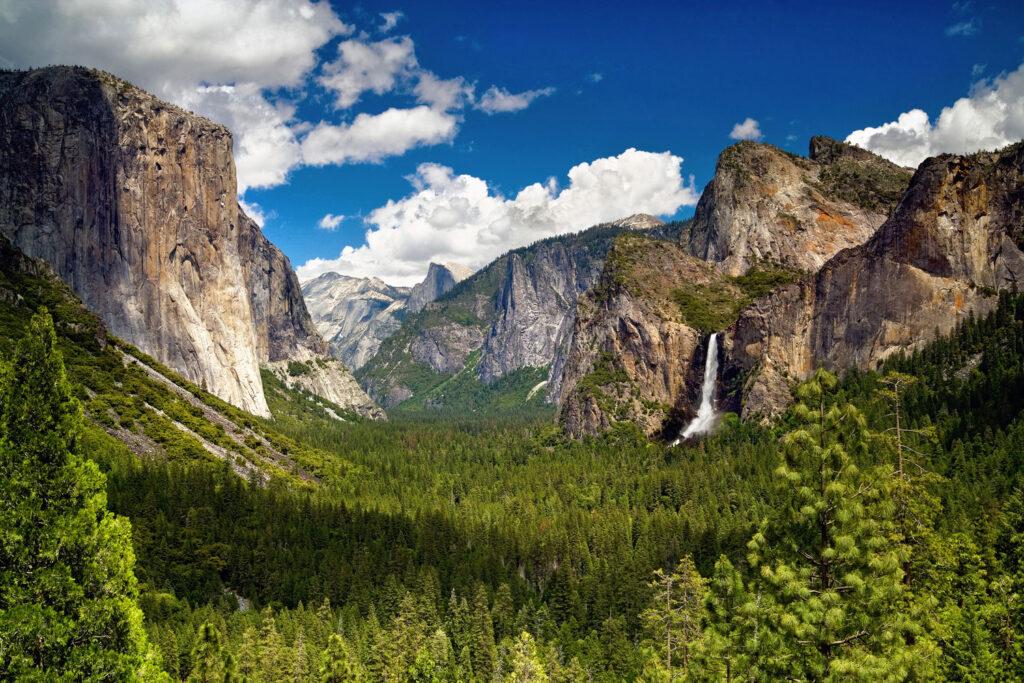 Yosemite Valley i Kalifornien.