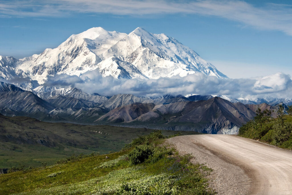 Denali National Park i Alaska.