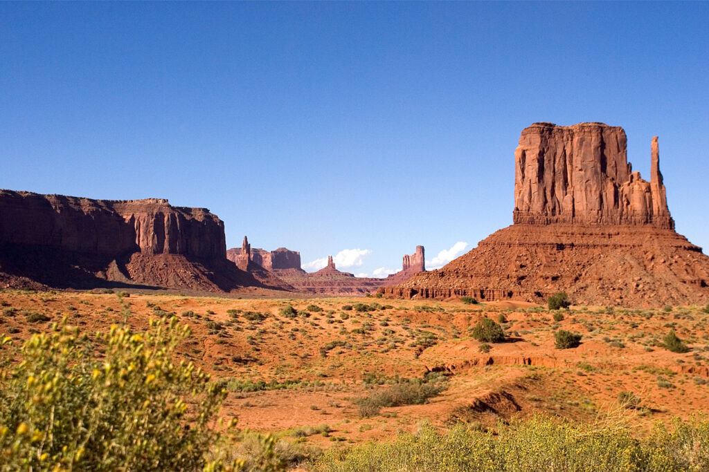 Monument Valley i Arizona och Utah.