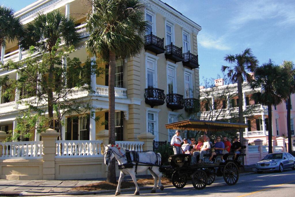 Charleston i South Carolina.