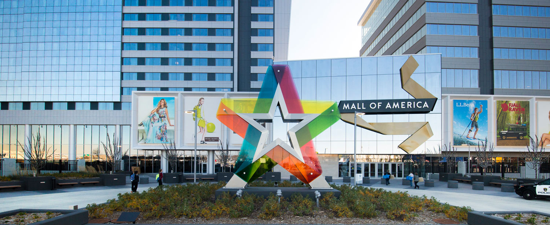 Mall of America, Minneapolis.