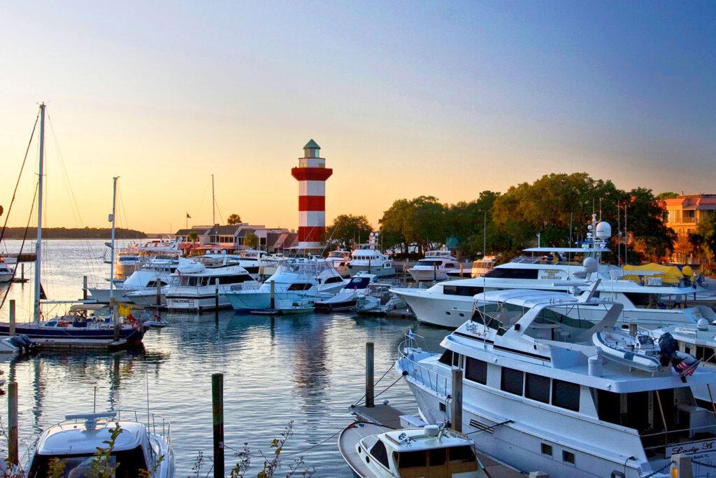Hilton Head Island i South Carolina.