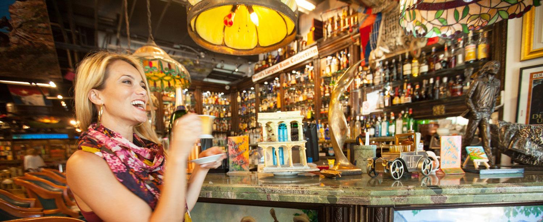 Kafé i Little Havana, Miami.