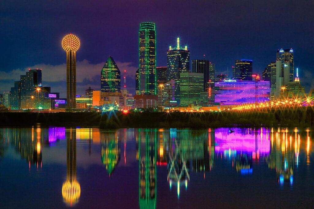 Skyline Dallas, Texas.