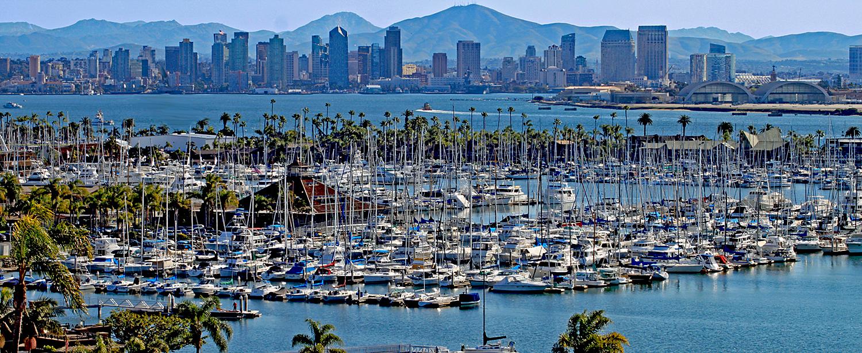 San Diego i Kalifornien.