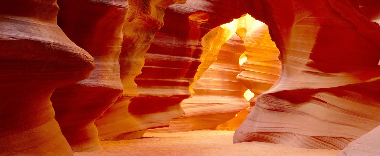 Antelope Canyon i Arizona.