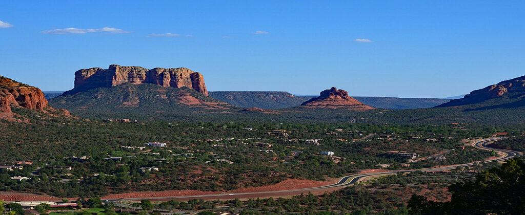 Sedona i Arizona.
